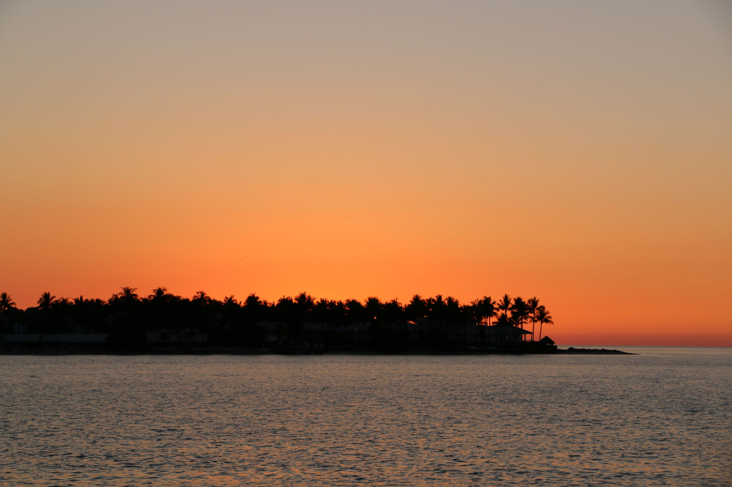 Sunset Key im Sonnenuntergang